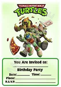 Superhéroe Teenage Mutant Ninja Turtles fiesta de cumpleaños ...