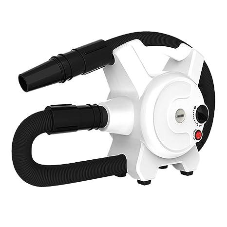 Peluquería para Mascotas Secador Pelo Profesional Regulación Velocidad Sin Escalones Bajo Ruido Alto Rendimiento Motor Mascotas
