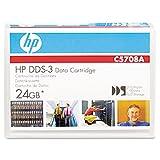 HPamp;reg; 1/8amp;quot; DDS-3 Data Cartridge, 125m, 12GB Native/24GB Compressed Data Capacity