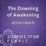 The Dawning of Awakening: Glimpses into the Nature of Reality |  Adyashanti