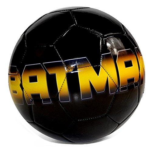 Batman DC Comics Darkbat Black & Gold Logo Size 1 Soccer (Soccer Ball Logo)