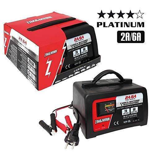 Batterie Carica batteria Fast Platinum 6V/6A, 12V/2A, 12V/6A ZIM&MANN