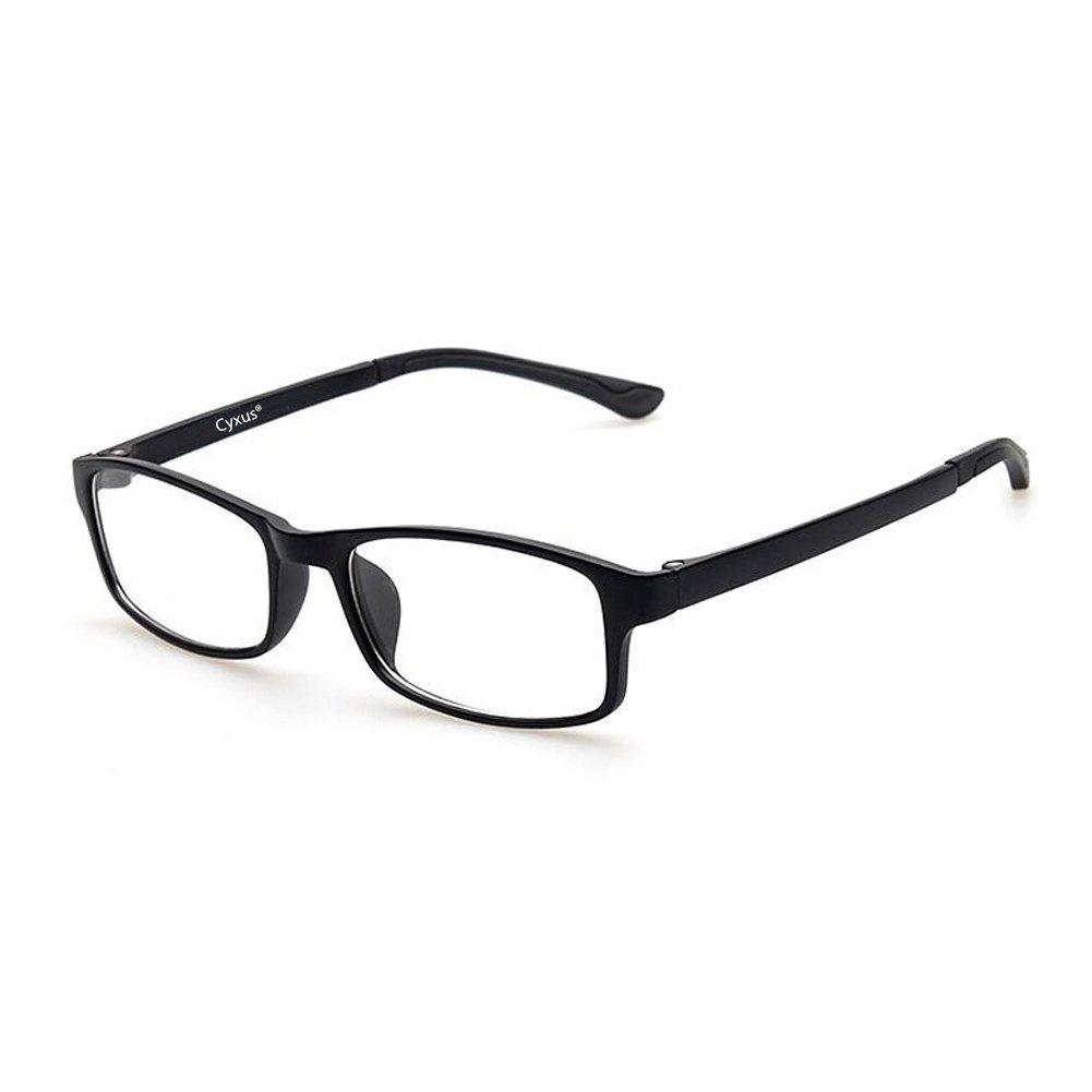 91ff661ee683 Amazon.com  Cyxus Blue Light Blocking  Lightweight TR90  Glasses for Anti  Eye Strain Headache Computer Use Eyewear