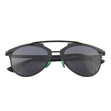 Wkaijc Blitz Hübsch Farbfilm Sonnenbrille Männer Und Frauen Mode Persönlichkeit Kreativität Komfort Sonnenbrille,Blue