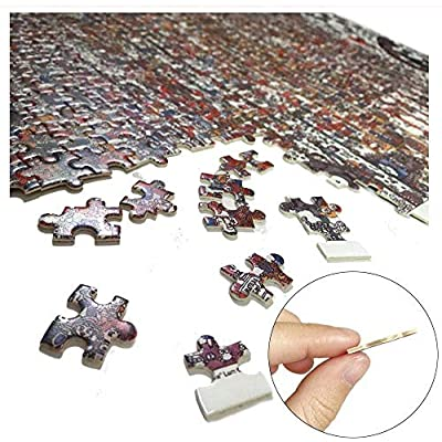 Lzyljr 1000 Pieces Wooden Jigsaw Puzzle for Adult and Kids- United States Map: Toys & Games