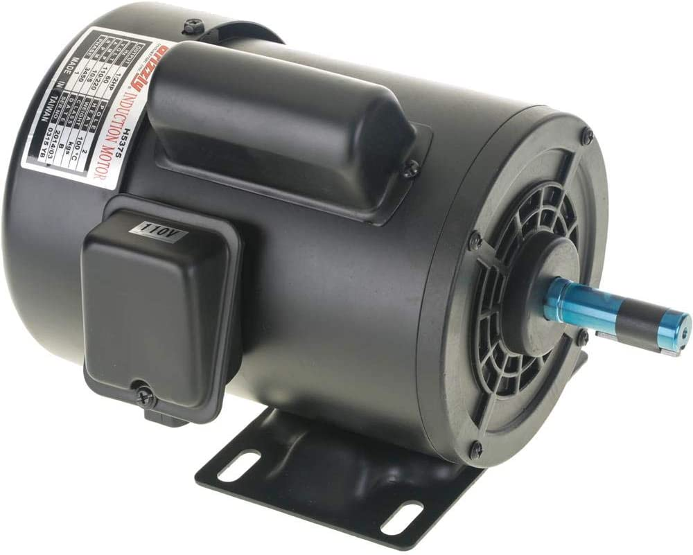 Grizzly Industrial H5375 - Motor 1/2 HP Single-Phase 3450 RPM TEFC 110V/220V