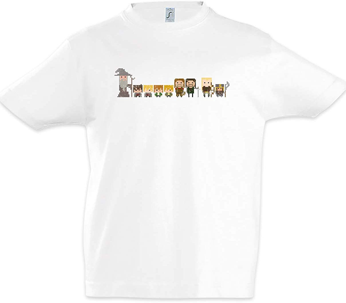 Urban Backwoods Pixel Fellowship Niños Chicos Kids T-Shirt