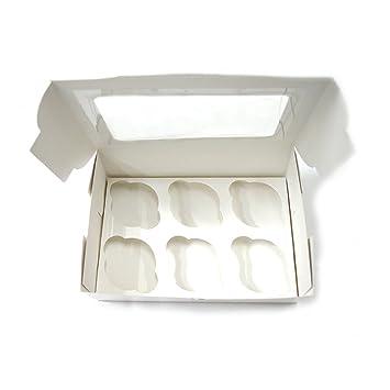 Kcopo Cajas de regalo Plaza Patisserie Cajas Caja de Regalo con Ventana bio de Essen del