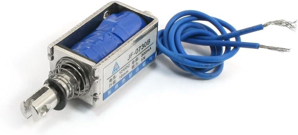 Sourcingmap a13120900ux0102 - Dc 24v 5n empuje lineal tirón electroimán actuador solenoide jf-0730b