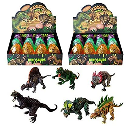 CZXC Jurassic World 3D Dinosaurs Eggs Novelty Toy, Dino ...