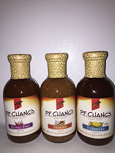 P F  Chang Kung Pao  Sesame And Teriyaki Sauces