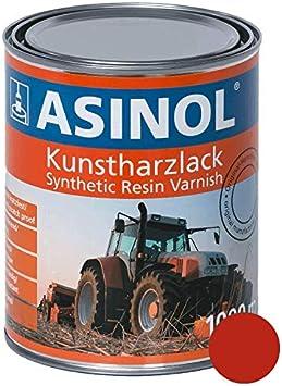 Asinol Fella Rot 1 000 Ml Kunstharzlack Farbe Lack 1l Liter Dose Auto