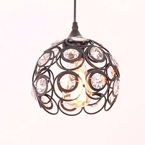 Antique Crystal Pendant Light - 4