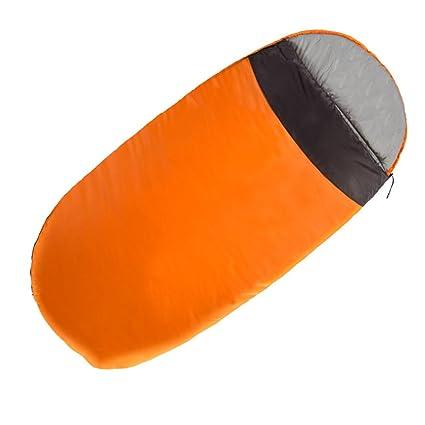 ZXQZ El saco de dormir para adultos al aire libre que acampa espesa el solo saco