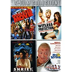 Four-Film Collection (Disaster Movie / Witless Protection / Shriek If You Know What I Did / My Five Wives)