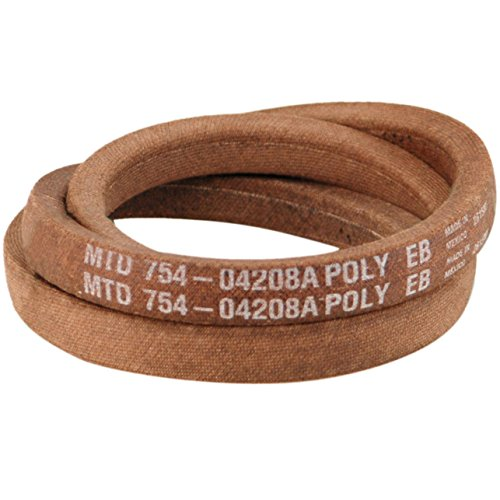 MTD 954-04208A Riding Mower Upper Transmission Belt