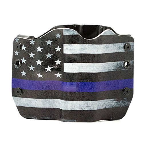 Thin Blue Line Kydex OWB holsters for more than 125 different handguns