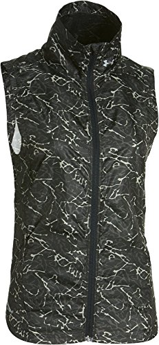 Under Armour Women's Storm Layered Up Printed Running Vest Black/Black Small