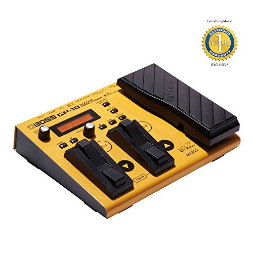 Boss GP-10S GP-10 Modeling & Multi-Effects Guitar Processor with 1 Year Free Extended Warranty