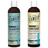 The Seaweed Bath Co. Moisturizing Unscented Argan Shampoo and Conditioner Value Pack