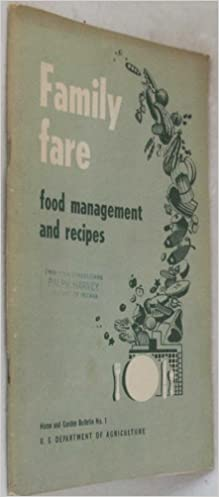 Family Fare, Food Management and Recipes