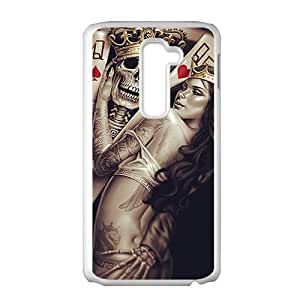 Playing cards King and Queen Phone Case for LG G2 by icecream design
