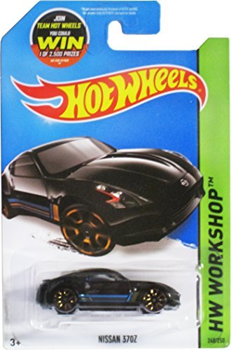 Hot Wheels 2015 HW Workshop Nissan 370Z 248/250, Black