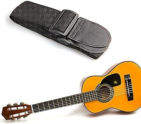 Correa Bandolera para Guitarra Eléctrica Acústica Bajo: Amazon.es ...