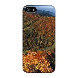 For Iphone 5/5s Protector Case Fog In The Hills Of Kentucky Phone Cover by Maris's Diary