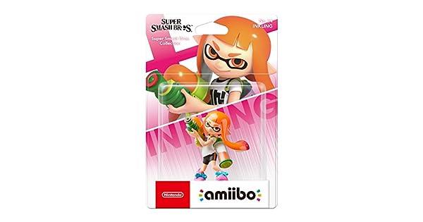 Nintendo Iberica - Figurina Amiibo Inkling Chica: Amazon.es ...