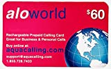 $60 Prepaid Phone Card - Domestic & International
