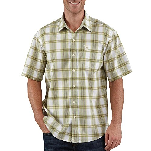 Plaid Fairway (Carhartt Plaid Short-Sleeve Shirt, Fairway, Small)