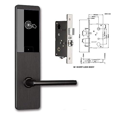 Amazon.com: Cerradura de tarjeta RFID electrónica, tarjeta ...