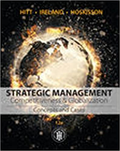 Amazon com: Strategic Management: Concepts and Cases