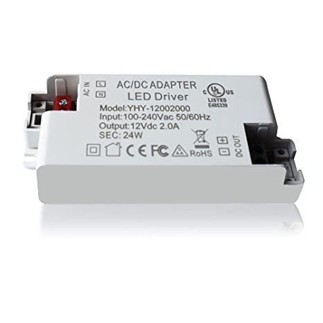 lampaous 24w led transformer led driver power supply 24w 12v dc rh amazon com  is there going to be a transformers 6