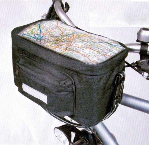 Fahrradlenkertasche,isoliert,Schultergurt und Kartenfach,Fahrrad Lenker Tasche (LHS)