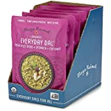 Maya Kaimal Organic Ready to Eat Indian Dal, Green Split Peas, Spinach and Coconut, 10 Ounce, 6 Count