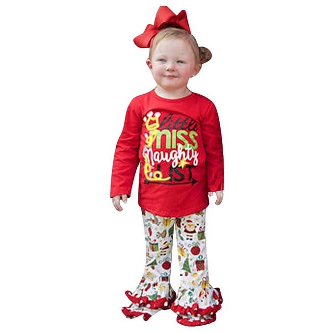 K-youth Bebe Navidad Disfraz Ropa Bebe Niña Navidad Pijamas Bebe ...