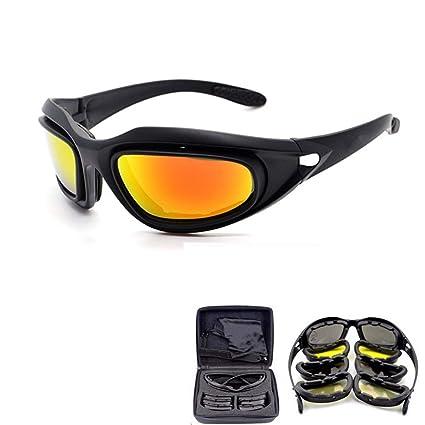 Daisy C5 Polarized Army Goggles Military Sunglasses Mens Desert Tactical Glasses