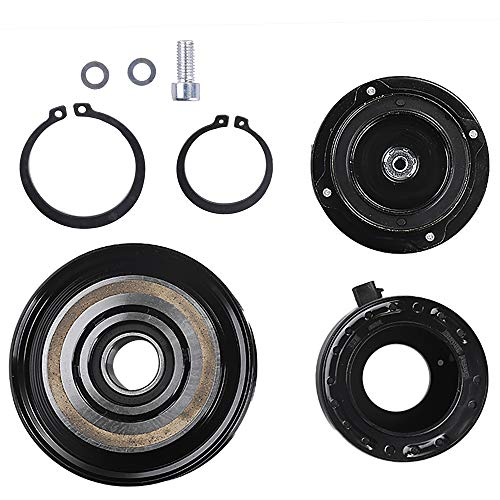 38810-RGL-A01 AC Compressor Clutch Assy for Honda Odyssey Ridgeline 2005 2006 2007 2008 Air Conditioning Repair Kit Plate Pulley Bearing ()