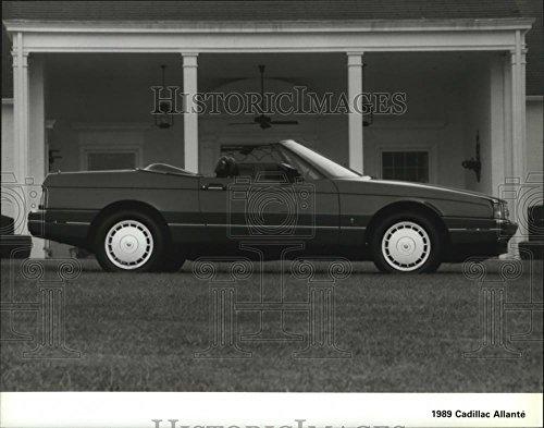 1988 Press Photo Automobile Cadillac Allante - spa26921