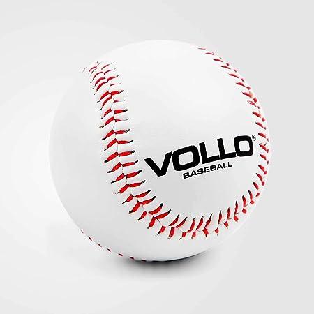 """Vollo Sports Bola Beisebol, 9"""", Branca : Amazon.com.br: Esporte"""