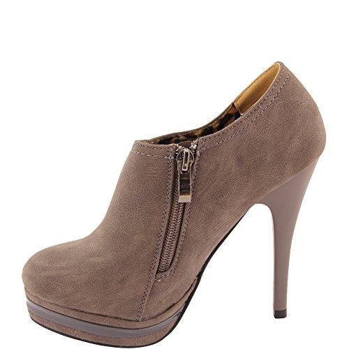 Femme Unbekannt Gris Chaussures Unbekannt Chaussures Compensées Compensées Femme wFRYqx844