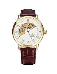 Female, mechanical watches, automatic, casual, fashion, leather, W0107