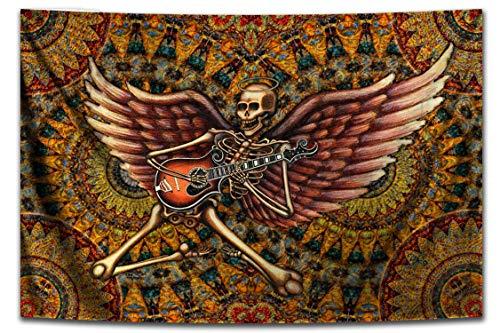 Tapestry, Rock n Roll Skeleton by Dan Morris, 26 x40