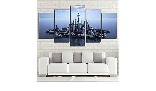 HD Impreso 5 Piezas Canvas Art Stargate Canvas Prints Imágenes de ...