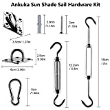 Ankuka Sun Shade Sail Hardware Kit Stainless Steel
