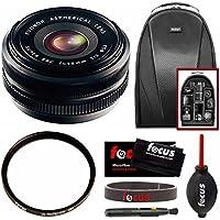 Fujifilm XF18mm F2 Lens w/ Focus Accessory Bundle & Camera Backpack