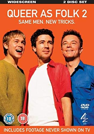 Queer As Folk Series 2 Dvd Amazoncouk Aidan Gillen