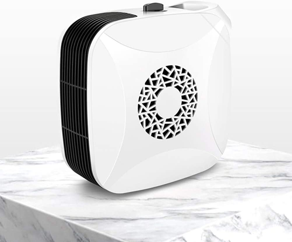 hitonsmusu 700W Winter Portable Mini Electric Fan Heater Hand Warmer Fast Heating Space Heater for Home Office White US Plug